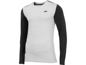 Pánské tričko 4F TSML071 Šedé