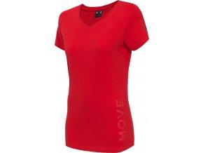 Dámske tričko 4F TSD005 Červené