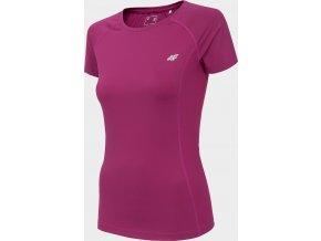 Dámské funkční tričko 4F TSDF002 Růžové