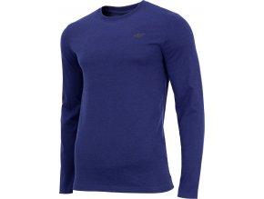 Pánské tričko 4F TSML001 Tmavě modré