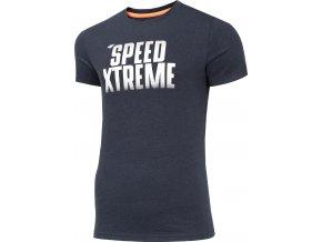 Pánské tričko 4F TSM004 Tmavě modré