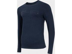 Pánské tričko 4F TSML204 Tmavě modré
