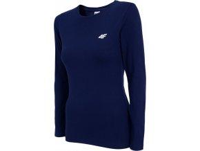 Dámské tričko 4F TSDL001 Tmavě modré