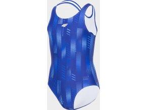 Dívčí plavky 4F JKOS200 Modré