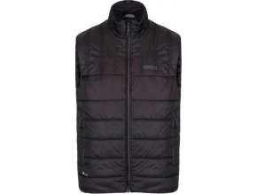 Pánská vesta REGATTA RMB083 Icebound B/W III Černá