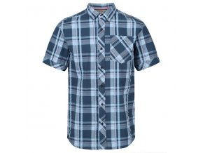 Pánska košeľa REGATTA RMS120 Deakin III Modrá