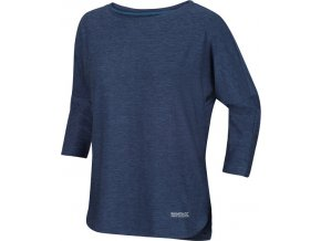 Dámske tričko s 3/4 rukávom REGATTA RWT202 Pulser Modré