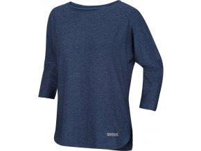 Dámské tričkos 3/4 rukávem RWT202 REGATTA Pulser Modré