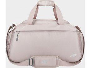 Sportovní taška 4F TPU213 Světle růžová