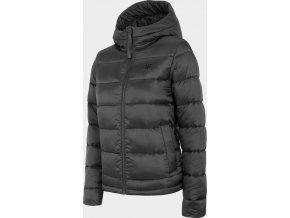 Dámská péřová bunda 4F KUDP202 Černá