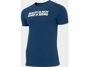 Pánské tričko 4F TSM207 Tmavě modré