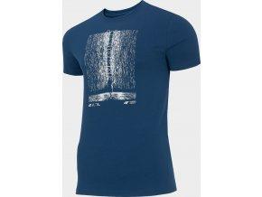 Pánské tričko 4F TSM214 Tmavě modré
