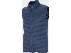 Pánská vesta 4F KUMP302 Tmavě modrá