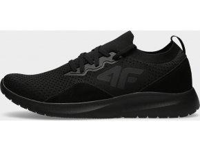 Pánská vycházková obuv 4F OBML203 Černé