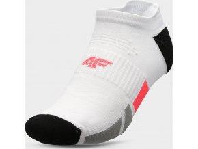 Pánske členkové ponožky 4F SOM207 Biele