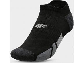 Pánske členkové ponožky 4F SOM207 Čierne
