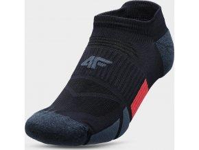 Pánske členkové ponožky 4FSOM207 Tmavomodré