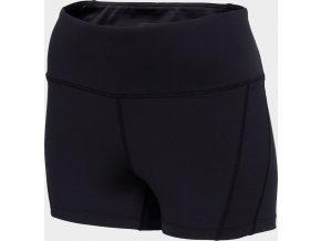 Dámské šortky na jógu 4F SKDF400 Černá