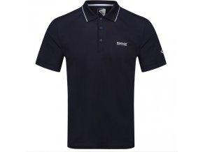 Pánské funkční POLO tričko Regatta RMT221 Maverick V Tmavě modré