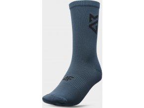 Sportovn ponožky 4F SOU100 Zelená mořská