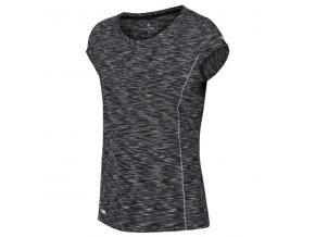 Dámské tričko REGATTA RWT140 Hyperdimension Černé