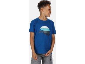 Detské tričko REGATTA RKT106 Bosley III Modré