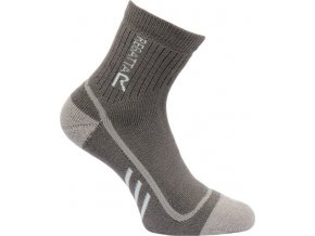 Dámské trekingové ponožky Regatta RWH032 TrekTrail Šedá