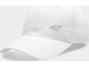 Dámská kšiltovka 4F CAD301 Bílá