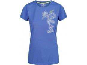 Dámské funkční tričko REGATTA  RWT180  Fingal IV Modré