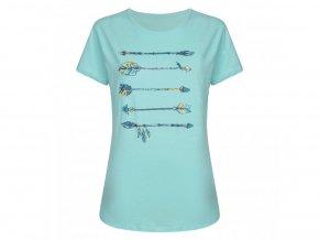 Dámské tričko Dare2B DWT469 Aim Higher Tee Světle modrá