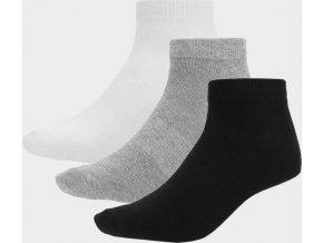 Pánské ponožky Outhorn SOM600 Bílé_šedé_černé