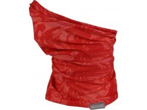 Multifunkční šátek REGATTA RKC103 K Print Multitube Červený