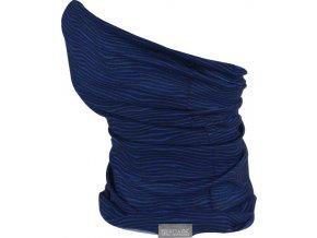 Multifunkční šátek REGATTA Multitube Printed Tmavě modrý