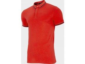 Pánské polo tričko Outhorn TSM633 Červené koral