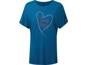 Dámské tričko Dare2B DWT519 Pick It Up Tee Modré