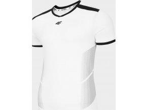Pánské fotbalové tričko 4F TSMF401 Bílé