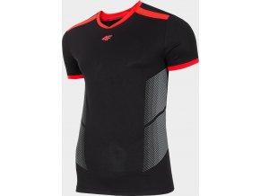 Pánské fotbalové tričko 4F TSMF401 Černé