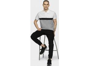 Pánské polo tričko Outhorn TSM629 Bílé
