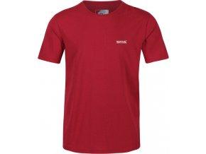 Pánské tričko Regatta RMT218 Tait Červené