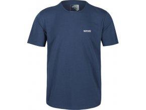 Pánské tričko Regatta Tait Tmavě modré