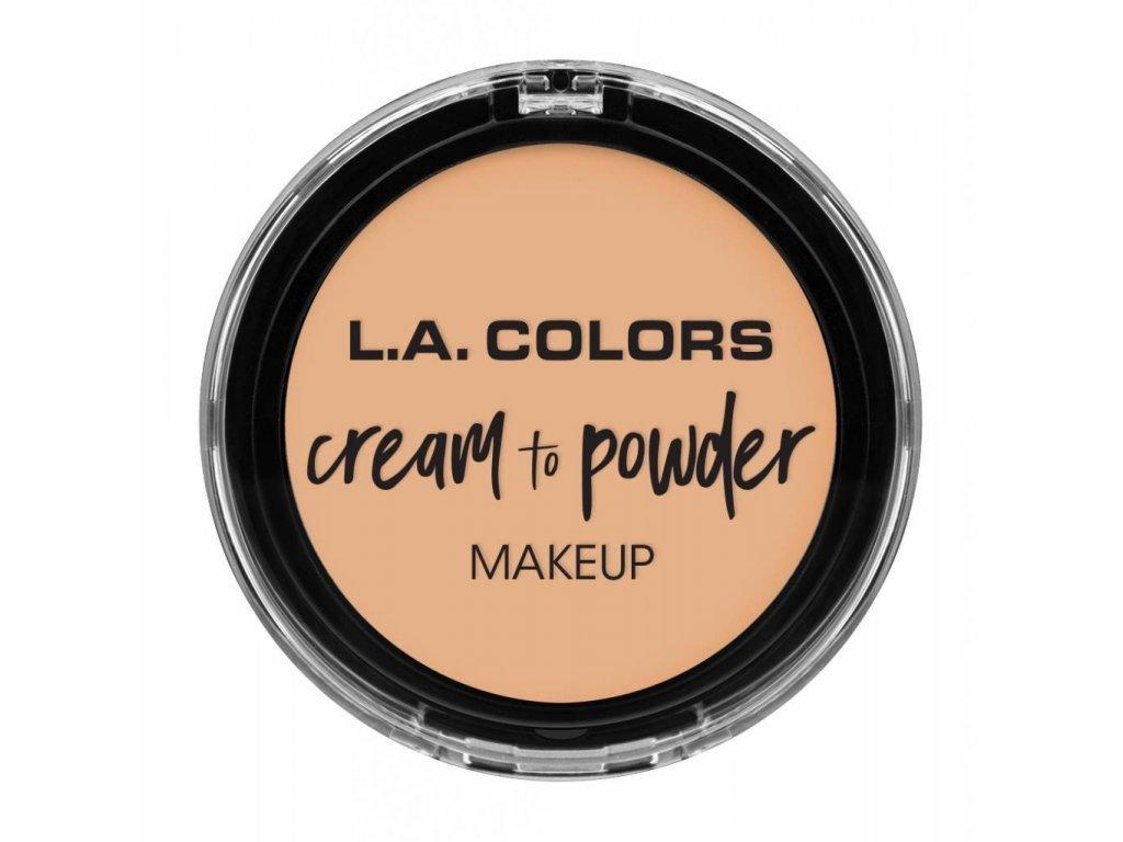 la colors la colors cream to powder foundation buf
