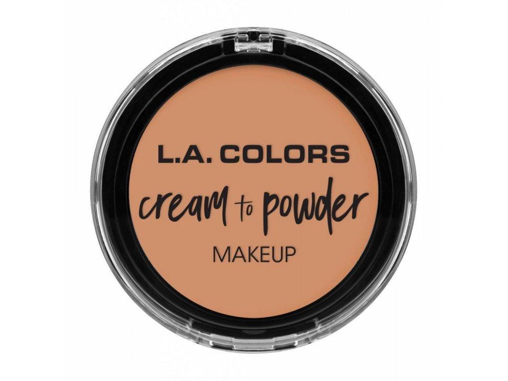 la colors la colors cream to powder foundation she