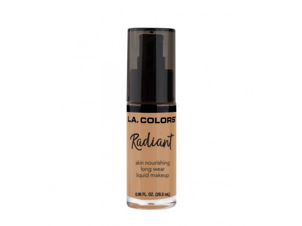 la colors la colors radiant liquid foundation ligh