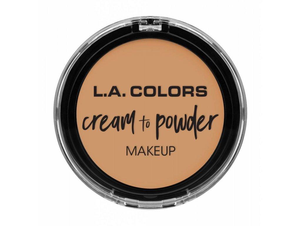la colors la colors cream to powder foundation nud
