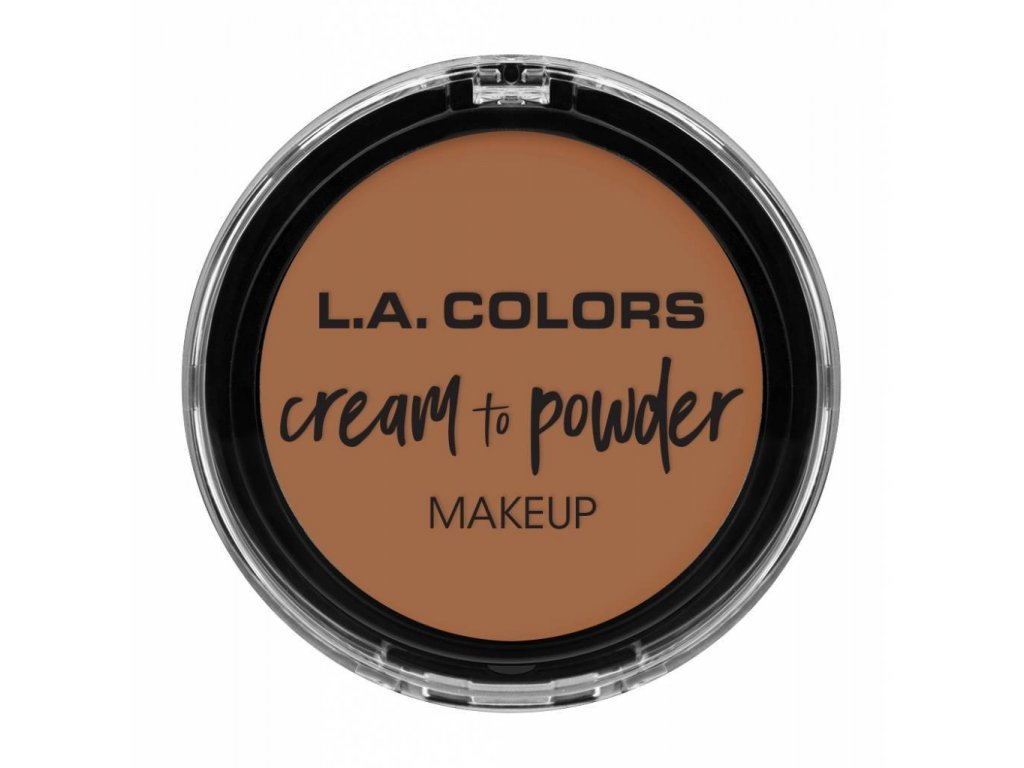la colors la colors cream to powder foundation med