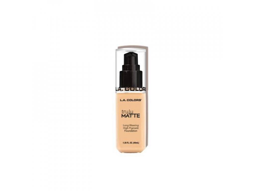 la colors la colors truly matte foundation porcela
