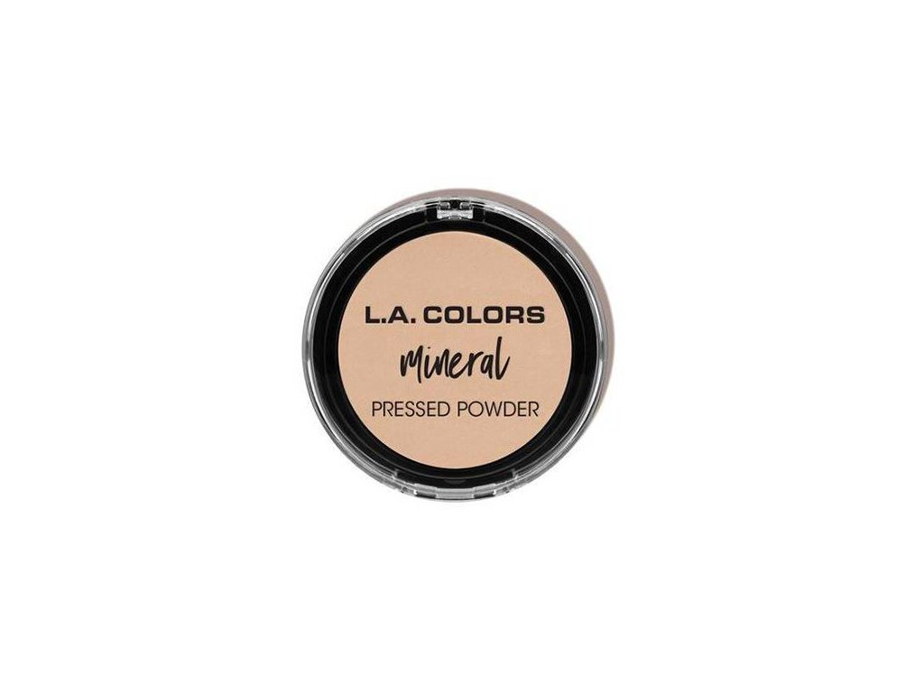 la colors la colors mineral pressed powder light i