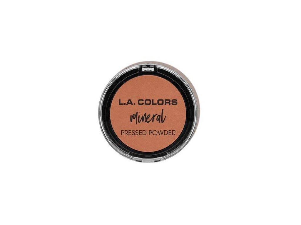 LA COLORS - Minerální pudr odstín 381 NUTMEG