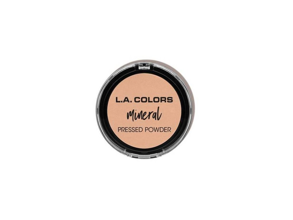 la colors la colors mineral pressed powder creamy