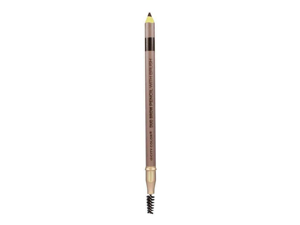 city color city color brow pencil with brush ebony